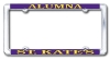 Image for License plate- alumna