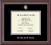 Image for Bachelor/Associate frame- medallion