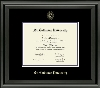 Image for Bachelor/Associate frame- embossed black