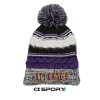 Image for Knit beanie- with pom