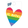 Image for Sticker- rainbow heart (mini)