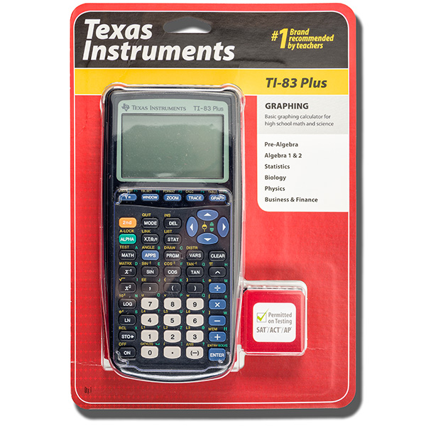 Image For Calculator- TI-83 Plus