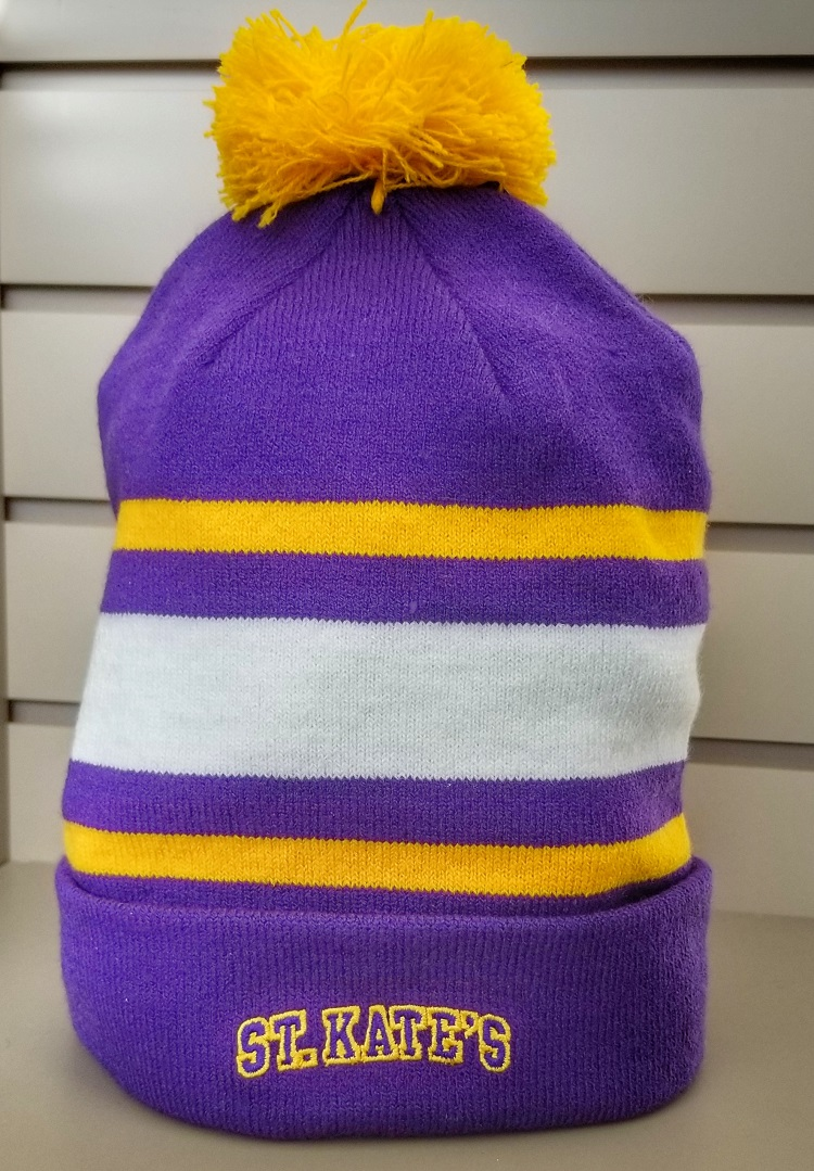 Image For Nike winter hat- removable pom