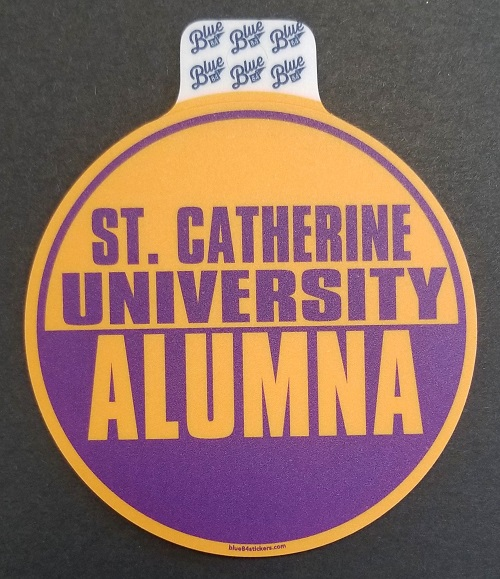 Cover Image For Sticker- St. Catherine University alumna