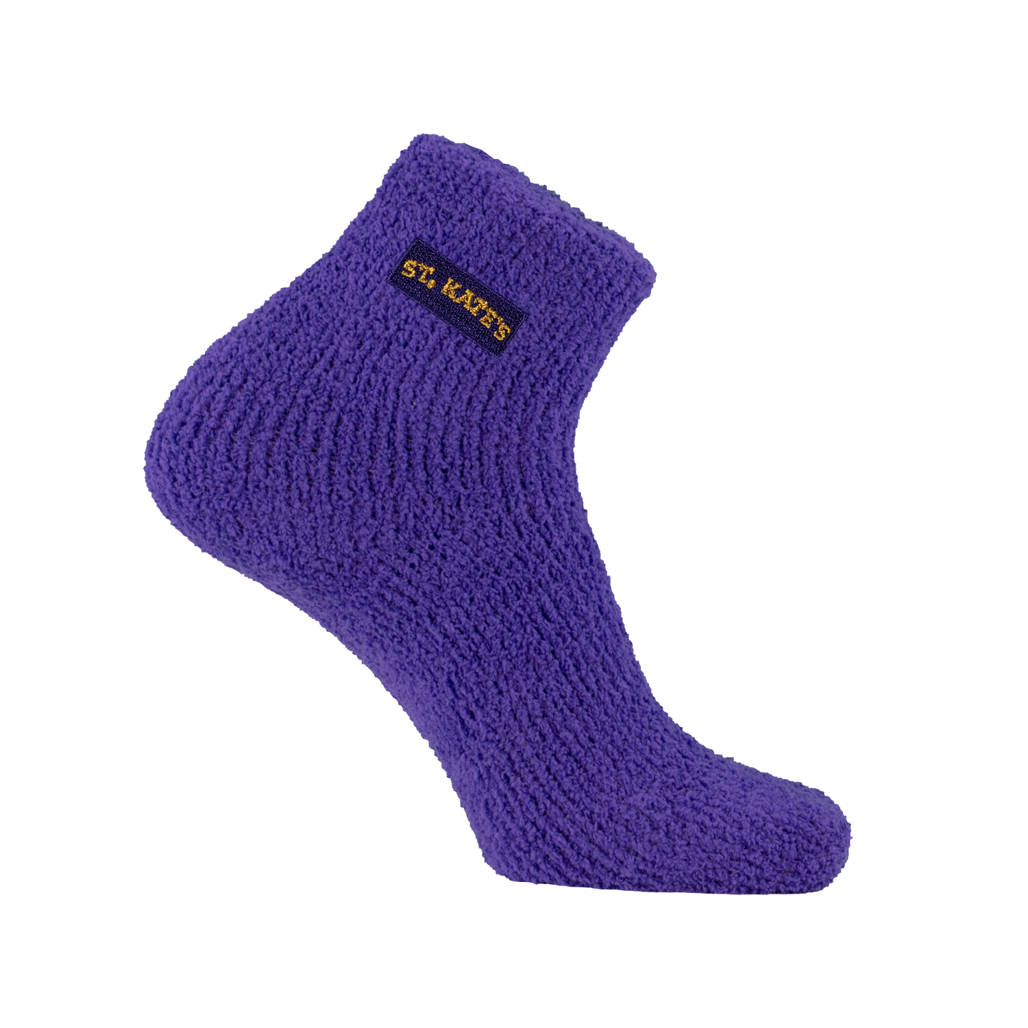 Image For Fuzzy ankle socks