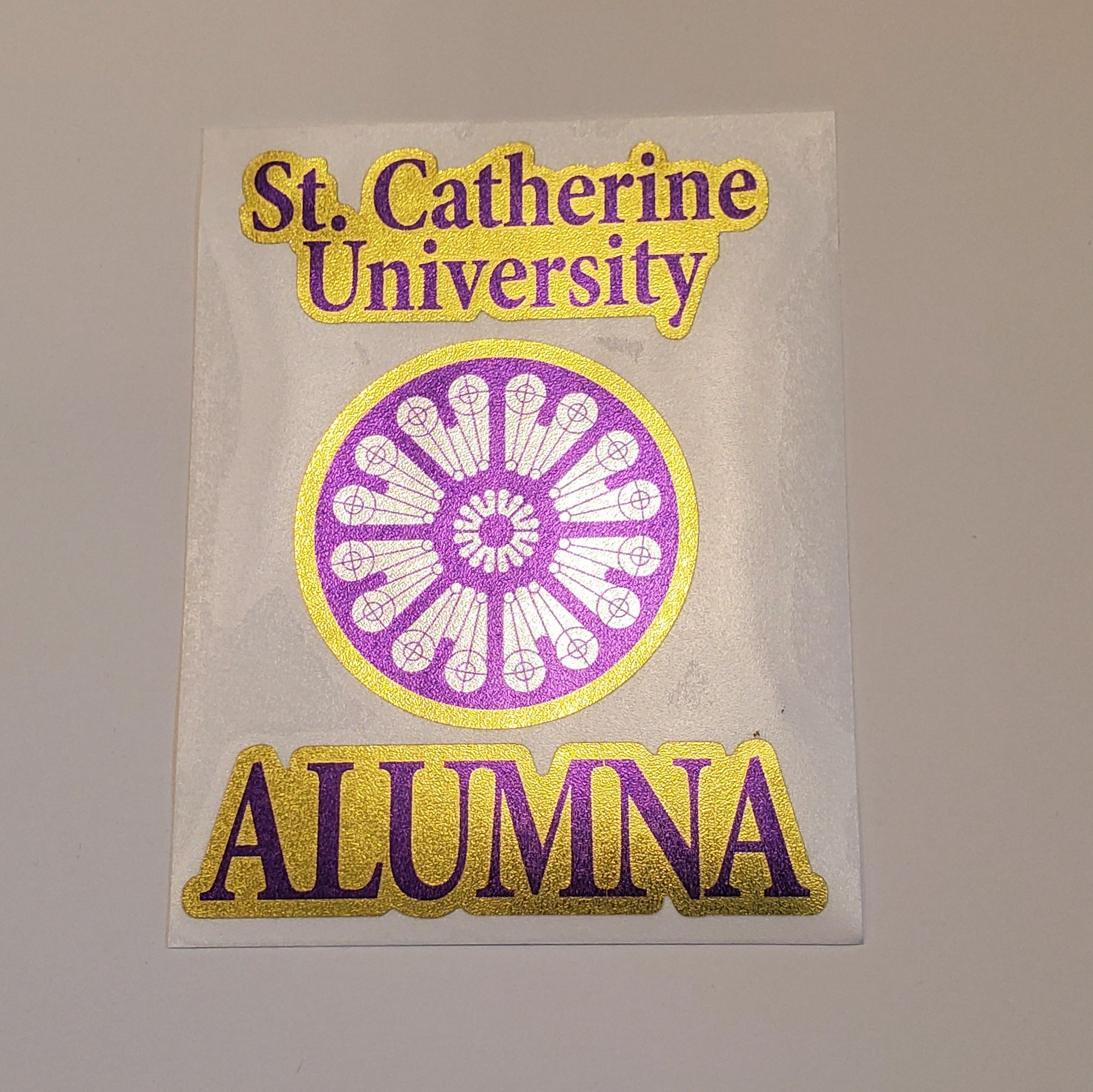 Image For Decal- alumna with rose window
