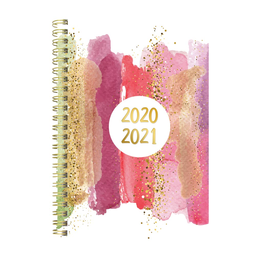 "Image For AY 2020-21 STARDUST 8"" x 5"" WEEKLY PLANNER"
