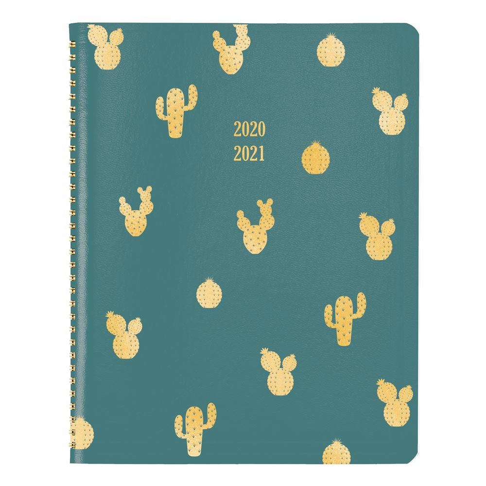 "Image For AY 20-21 CACTUS 11"" x 8.5"" MONTHLY PLANNER"