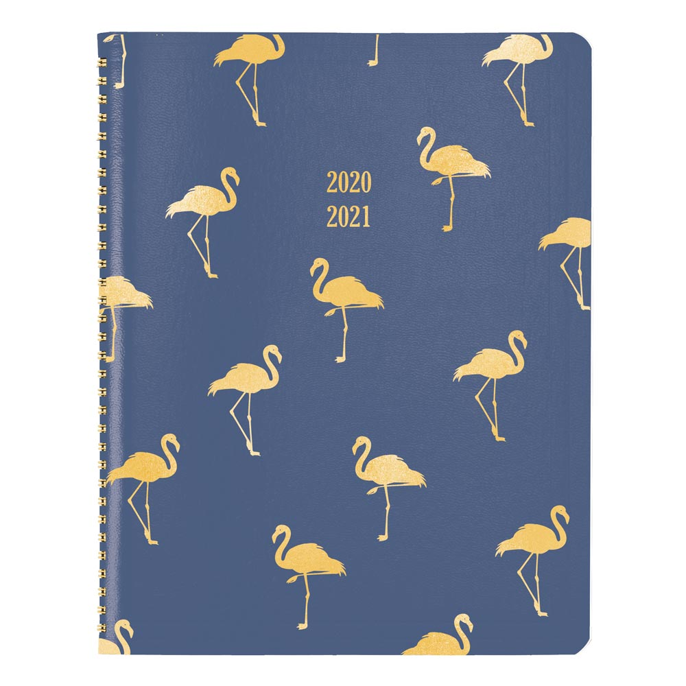 "Image For AY 20-21 FLAMINGO 11' x 8.5"" MONTHLY PLANNER"