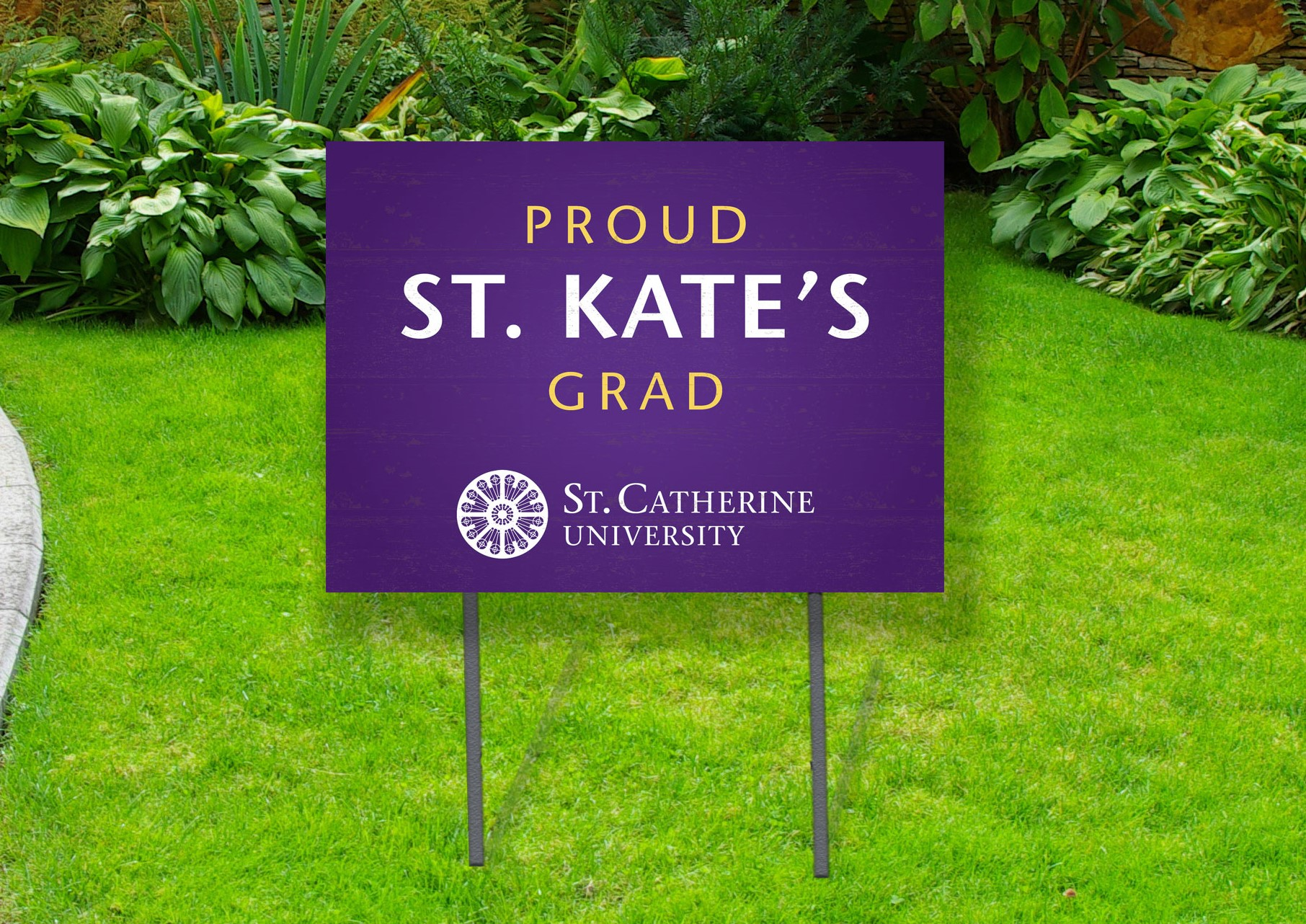Image For Lawn sign- Proud Grad