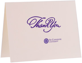 Image For Boxed Thank You cards