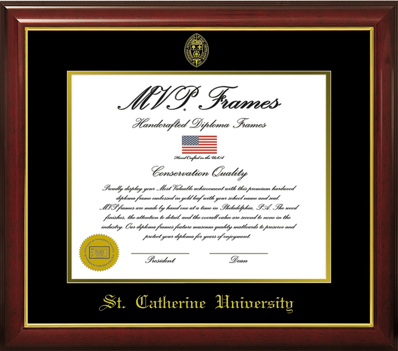 Image For Master's/Doctoral frame- Cherry Gloss